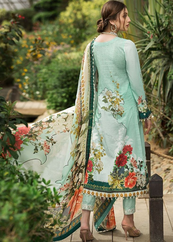 Afrozeh Sienna Lawn suit Pansy