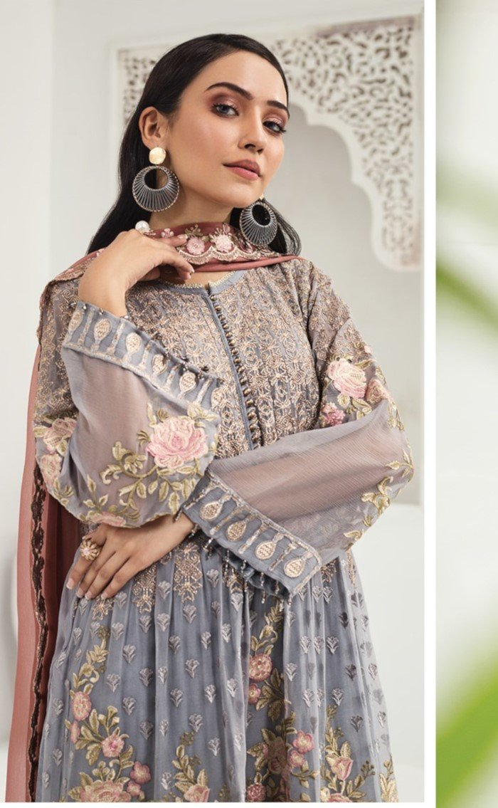 Alizeh Luxury Chiffon 2020 suit D-08 by Bilal's