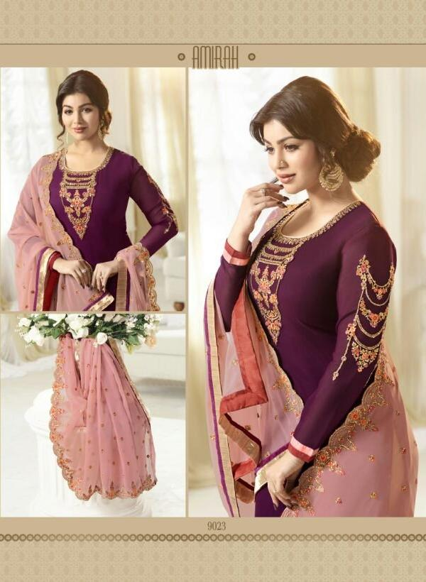 Amirah Vol 2 Purple suit 9023