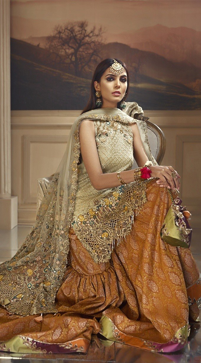 Anaya Wedding Edition 2018 suit Henna Garden D#03