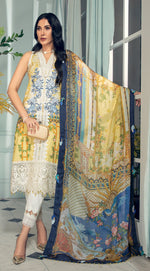 Anaya  Lawn Collection 2021 suit LAUREN by Kiran Chaudry