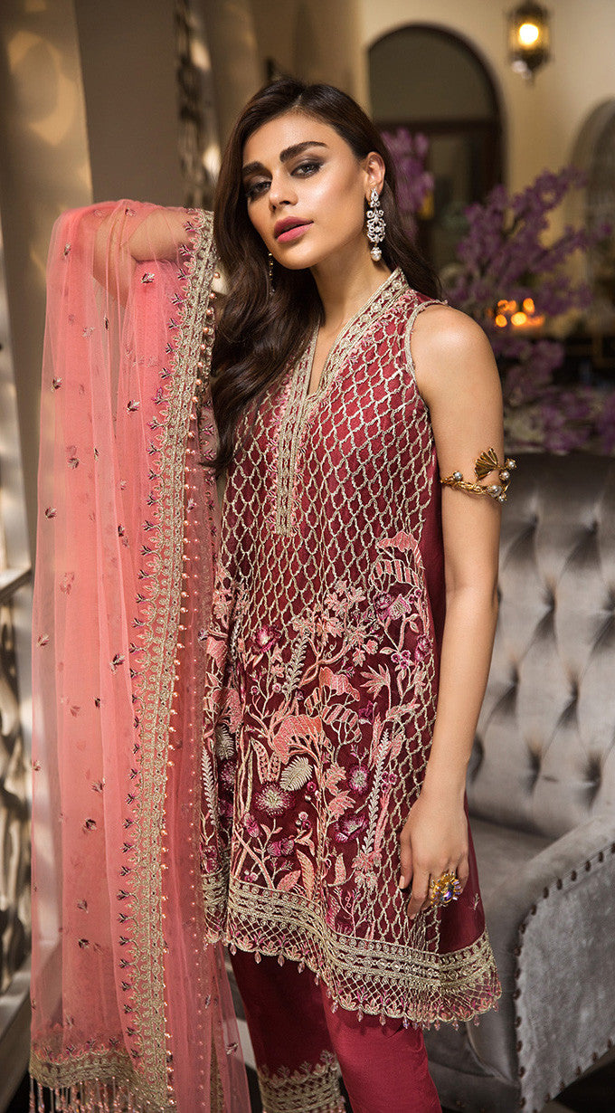 Anaya La Belle Soiree 2019 suit ROSELLE - Unstitched Party Salwar Kameez