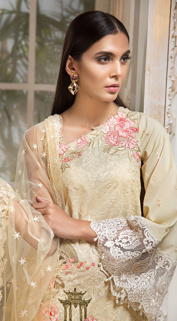 Anaya Luxury Lawn 2019 suit RHEA