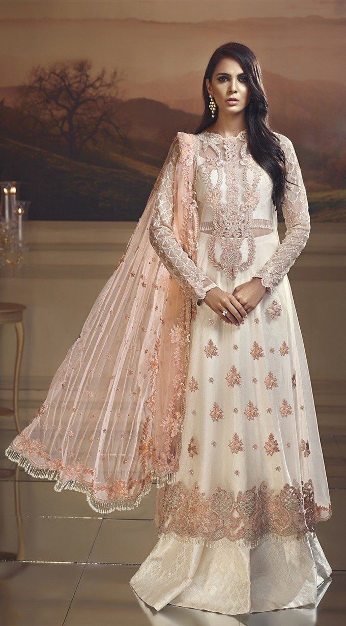 Anaya Wedding Edition 2018 suit Peach Fantasy