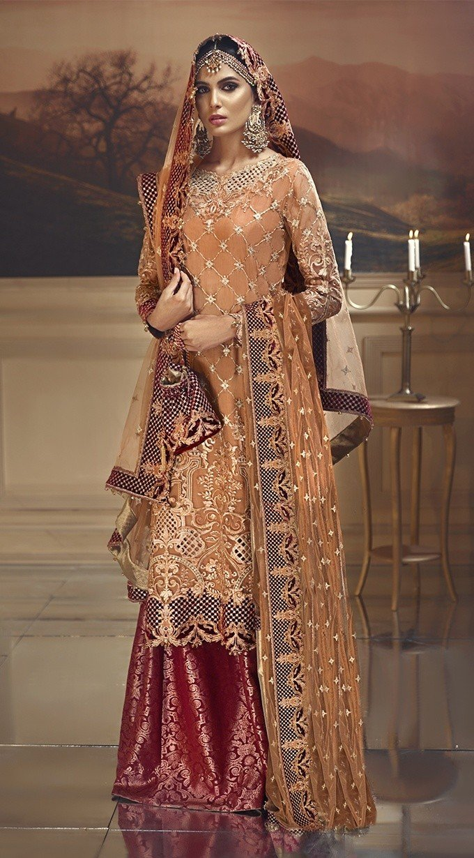 Anaya Wedding Edition 2018 suit Rustic Sunset