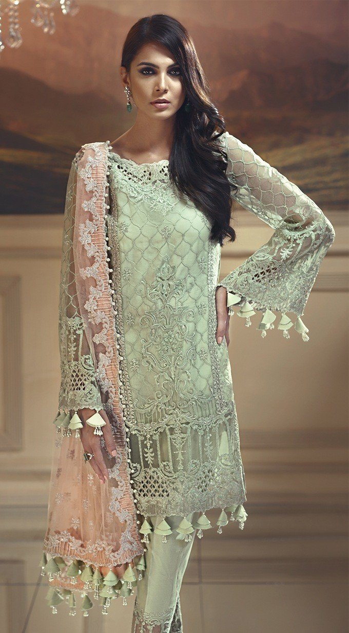 Anaya Wedding Edition 2018 Mint Melba