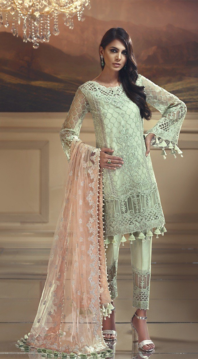 Anaya Wedding Edition 2018 suit Mint Melba