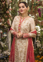 Asim Jofa Chiffon Collection 2020 suit AJN-09