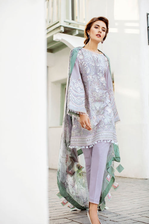 Baroque Swiss Voile Lawn 2019 suit Feisty