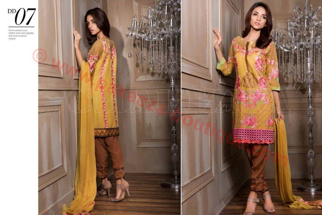 Charizma Luxury Chiffon Vol-1 2016 suit DD#07