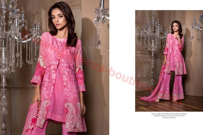 Charizma Luxury Chiffon Vol-1 2016 suit DD#08