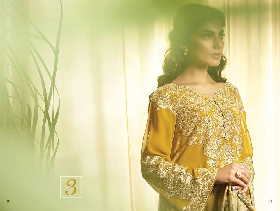 Faraz Manan - Crescent Luxury 2015 suit FM03