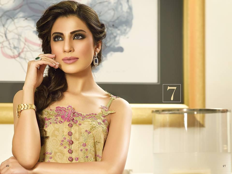 Crescent Luxury 2015 suit FM07 by faraz manan