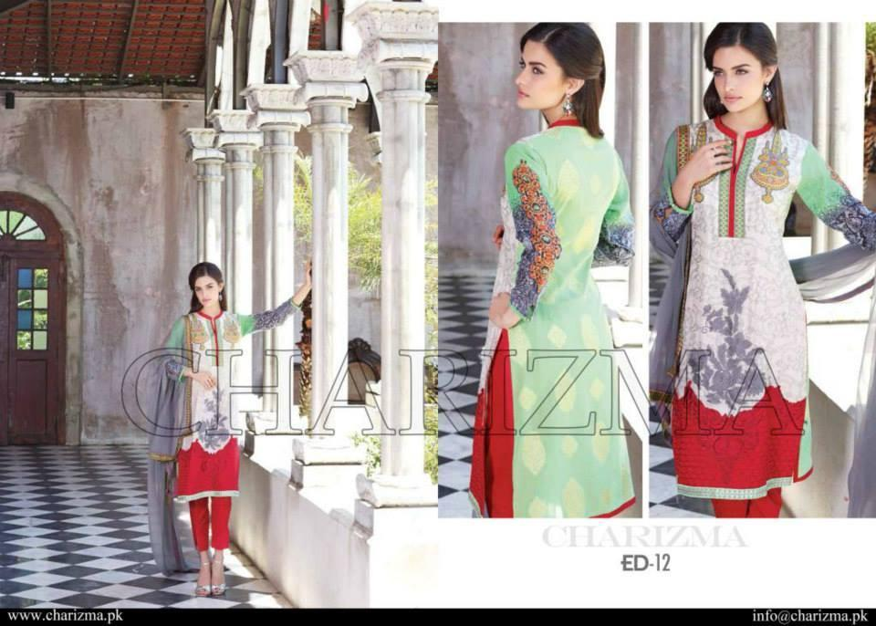 Charizma Eid/Festive Collection suit ED-12