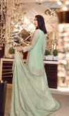 Elaf Premium Chiffon Vol-3 2019 suit Pastel Pistachio - Embroidered Chiffon Mint Green Shirt's Kameez with Embroidered Dupatta