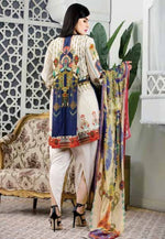 Eshaeman Luxury lawn Vol-1 2020 suit EE-107