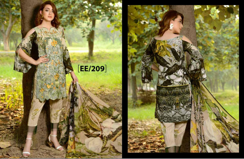 Eshaeman Fall Winter Collection Vol 2 Suit EE209_2018
