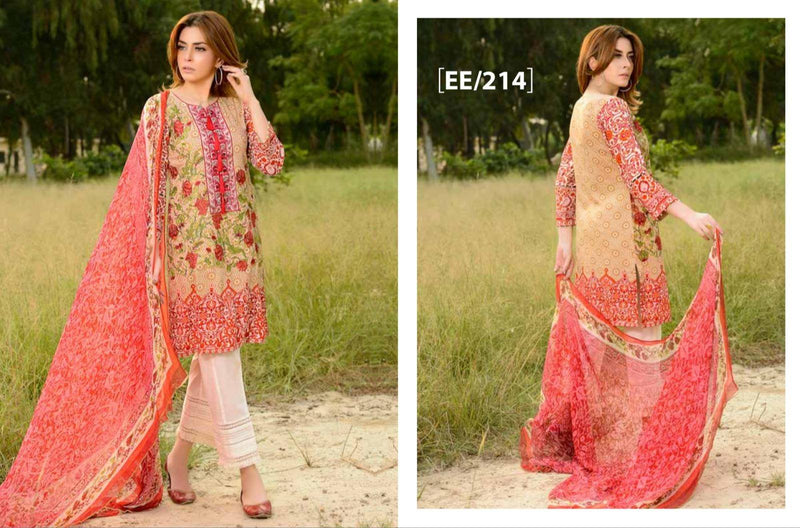 Eshaeman Fall Winter Collection Vol 2 Suit EE214_2018