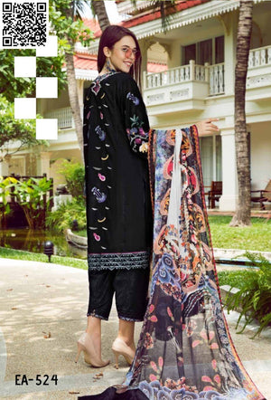 Eshaisha Eid Embroidered Collection 2019 suit EA-524