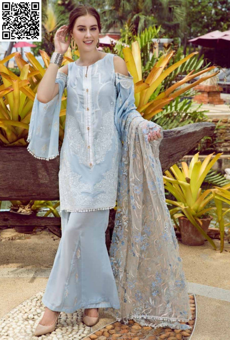 EshAisha Eid Luxury Lawn Collection 2019 Suit EA-526