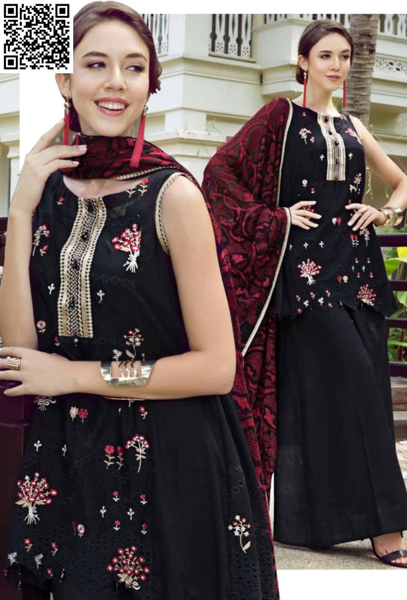 EshAisha Eid Luxury Lawn Collection 2019 Suit EA-527