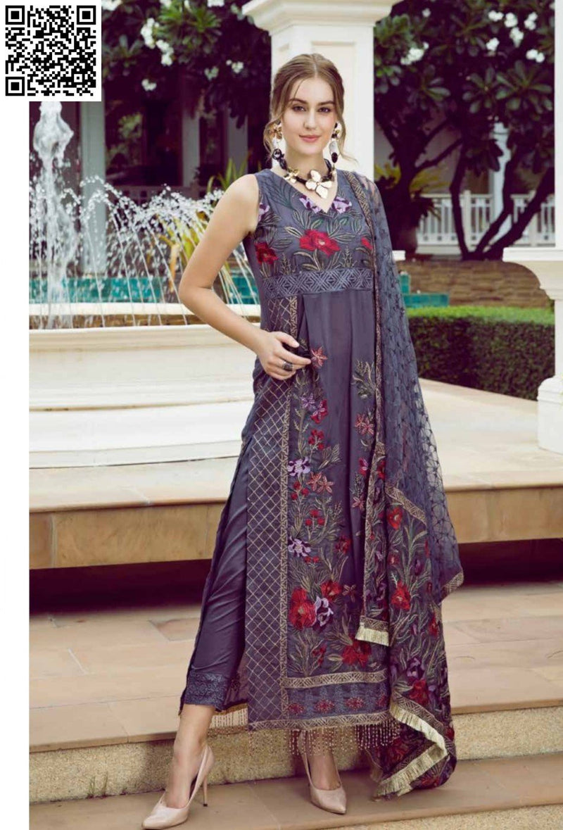 EshAisha Eid Luxury Lawn 2019 Suit EA-529