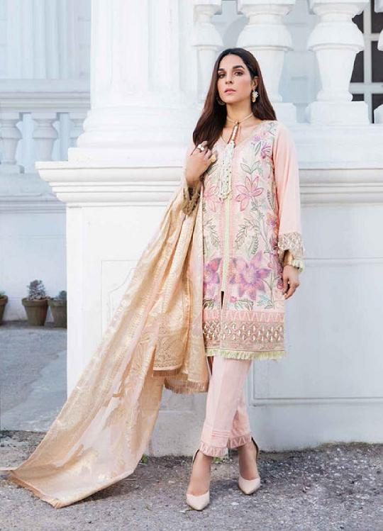 Eshaisha Luxury Embroidered 2020 Lawn suit EA-514