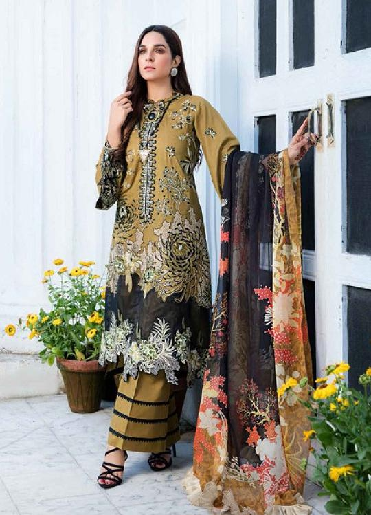 Eshaisha Luxury Embroidered 2020 Lawn suit EA-518