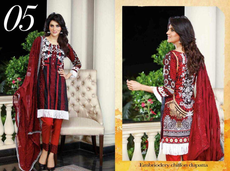 EshAisha Eid Collection 2017 suit D#05
