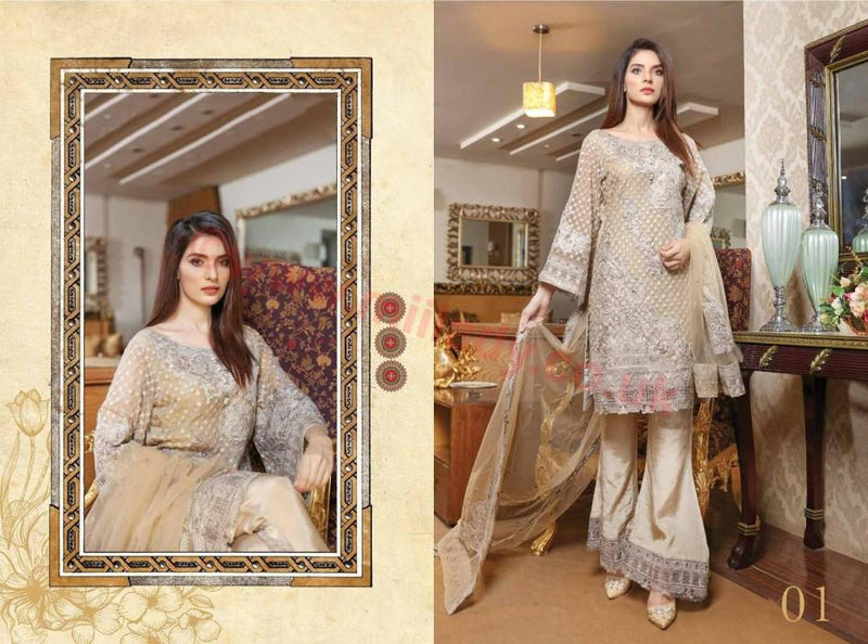 EshAisha Luxury Vol 2 suit 2017 D#01
