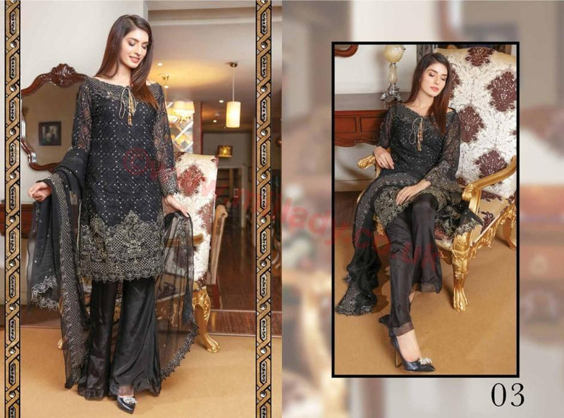 EshAisha Luxury Vol 2 2017 suit D#03