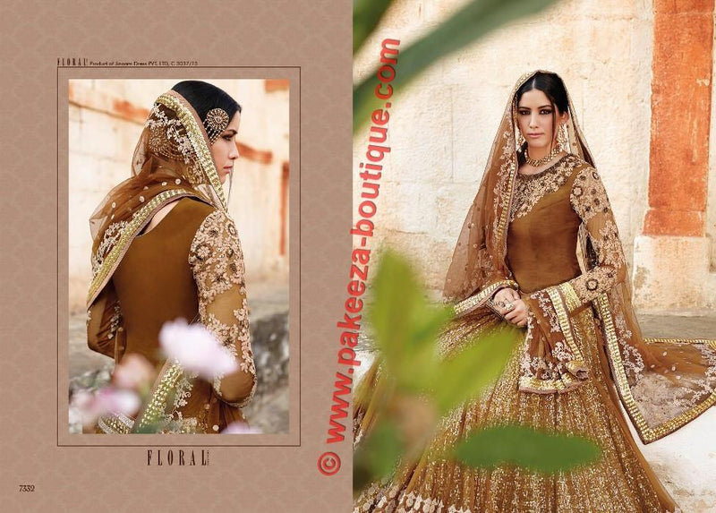 Floral Ghanerao Shimmer Wedding suit 7332