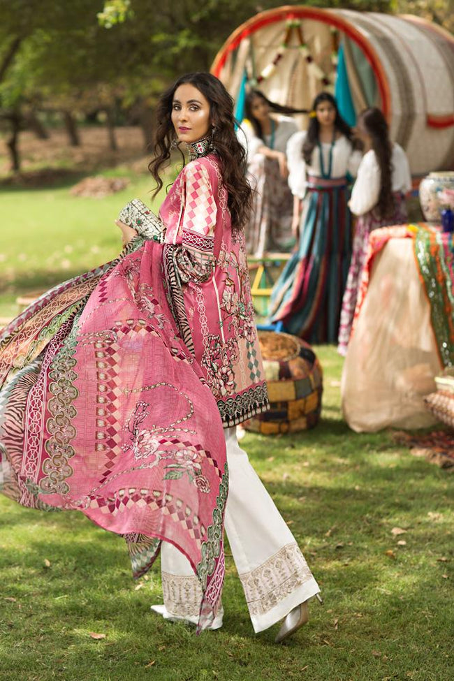 Florent Gypsy Lawn Vol-2 2019 suit FL-10A