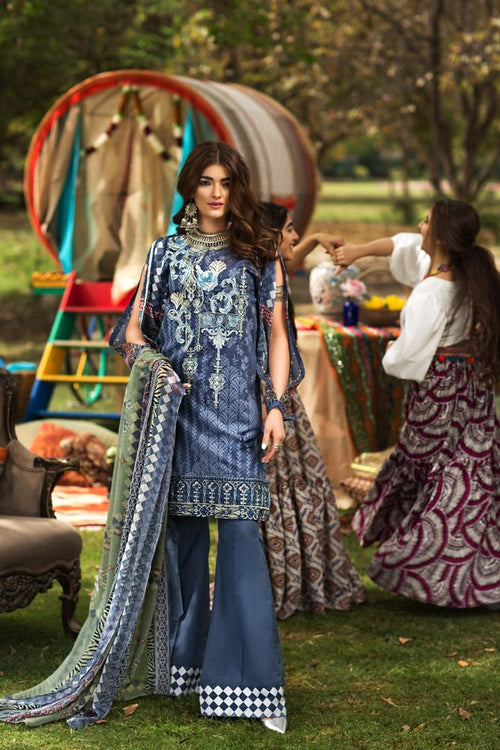 Florent Gypsy Lawn Vol-2 suit FL-10B