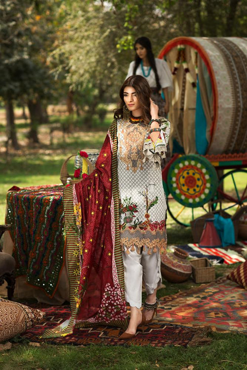 Florent Gypsy Summer Lawn Vol-2 2019 suit FL-1B