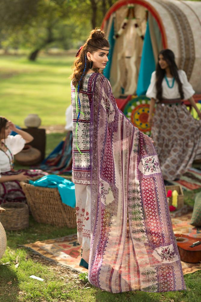 Florent Gypsy Lawn Vol-2 2019 suit FL-2A