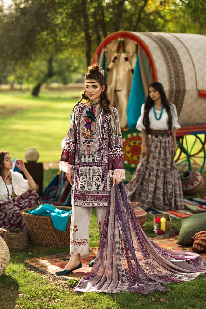 Florent Gypsy Summer Lawn Vol-2 2019 suit FL-2A