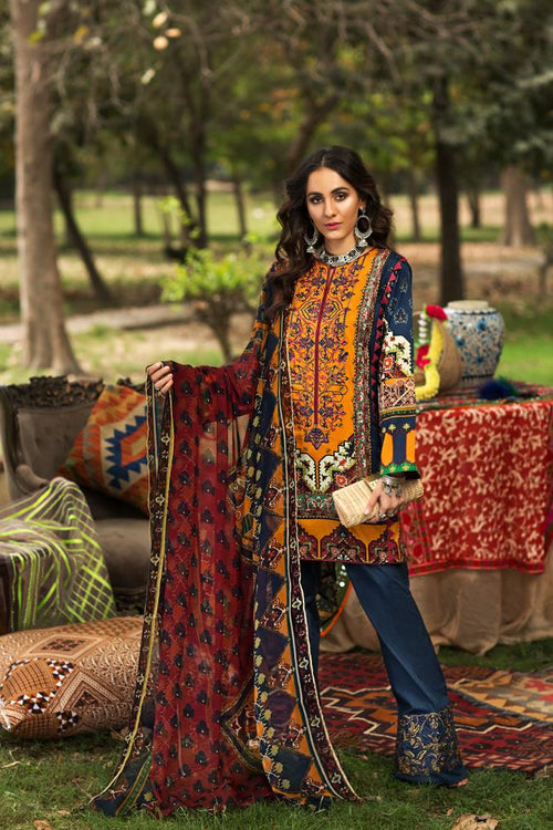 Florent Gypsy Summer Lawn Vol-2 suit FL-3B