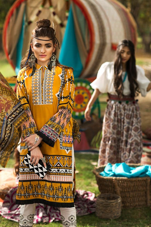 Florent Gypsy Summer Lawn Vol-2 2019 suit FL-4A
