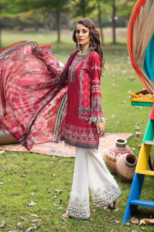 Florent Gypsy Lawn Vol-2 2019 suit FL-4B