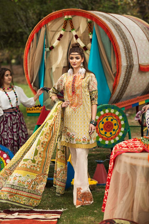 Florent Gypsy Summer Lawn Vol-2 2019 suit FL-5A