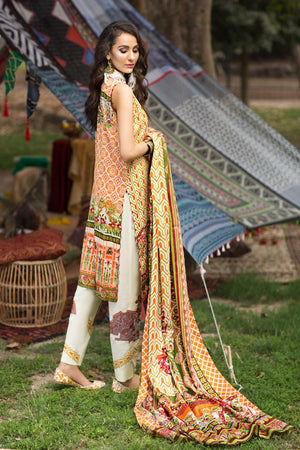 Florent Gypsy Lawn Vol-2 2019 suit FL-5B