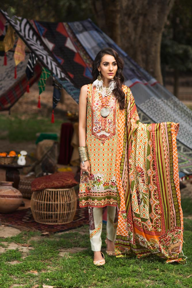 Florent Gypsy Summer Lawn Vol-2 2019 suit FL-5B