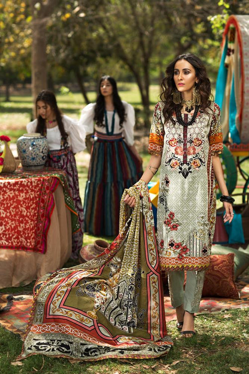 Florent Gypsy Summer Lawn Vol-2 2019 suit FL-6A