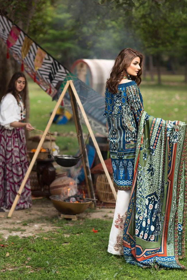 Florent Gypsy Lawn Vol-2 2019 suit FL-6B