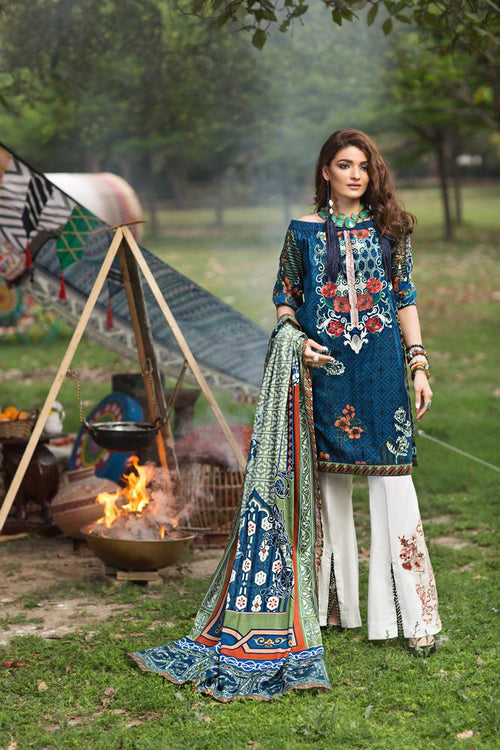 Florent Gypsy Summer Lawn Vol-2 2019 suit FL-6B