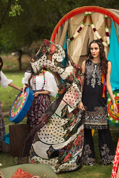 Florent Gypsy Summer Lawn Vol-2 2019 suit FL-7A