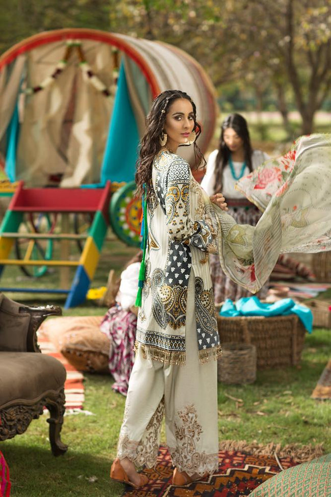 Florent Gypsy Lawn Vol-2 2019 suit FL-7B