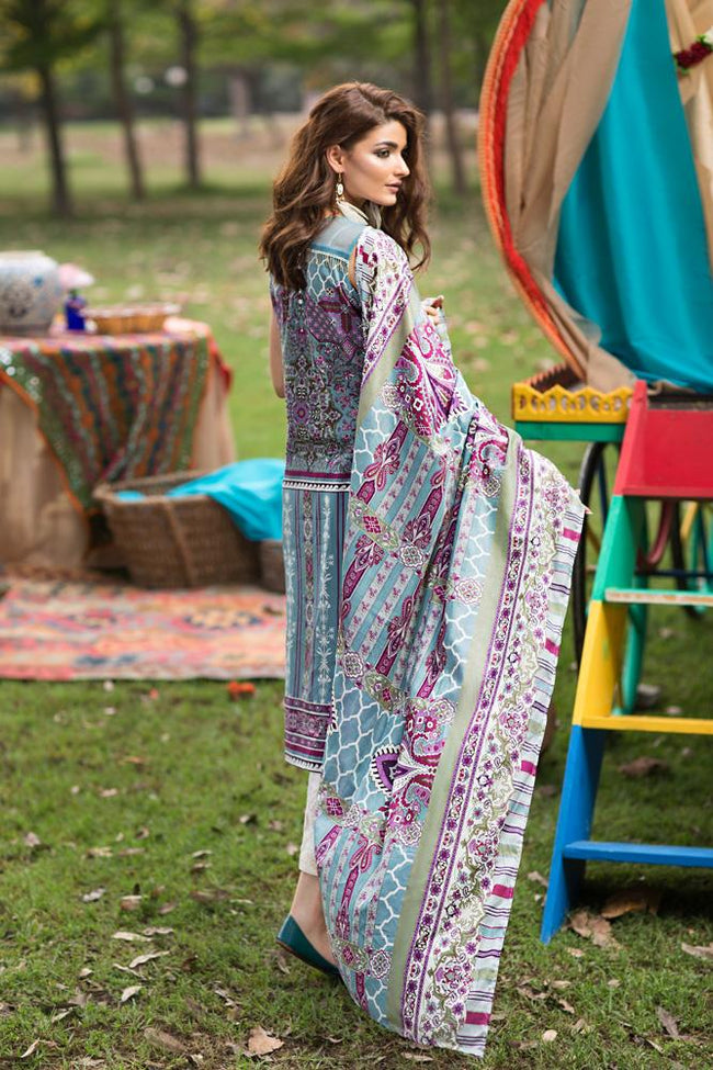 Florent Gypsy Lawn Vol-2 2019 suit FL-8A