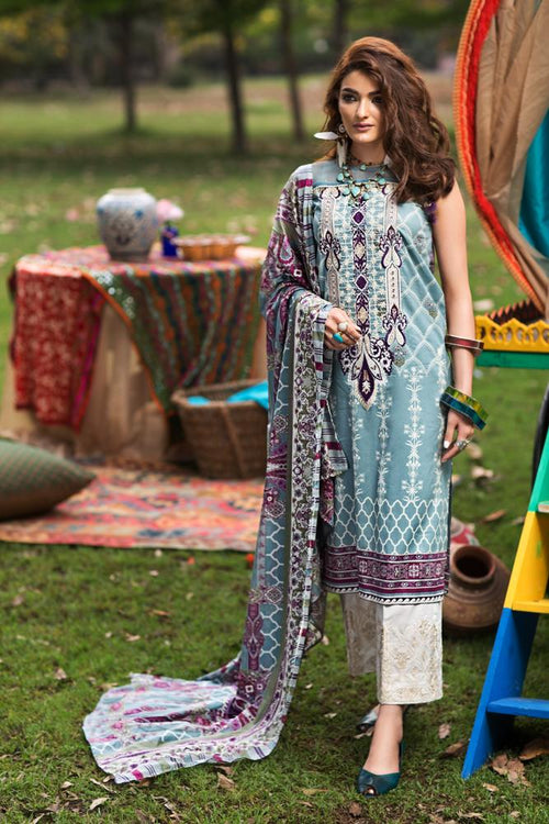 Florent Gypsy Summer Lawn Vol-2 2019 suit FL-8A